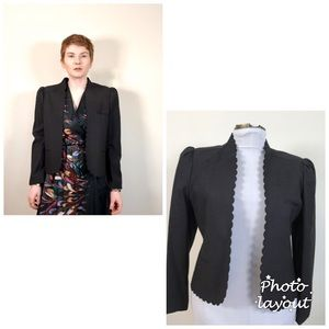 Vintage The Limited Open Front Blazer